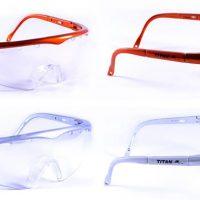 Titan Squash Brille Erwachsene