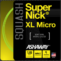 Ashaway Squash Saite Super Nick XL Micro
