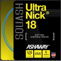 Ashaway Squash Saite Ultra Nick 18