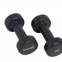 Schildkroet Fitness Vinyl-Hantel 3 Kg