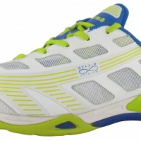 HI-TEC Infinity Flare Indoor Schuh weiss blau lime grün