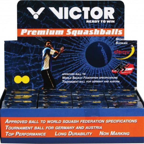 Der offizielle Turnierball für Schweizer Interclubspiele Victor Squash Ball