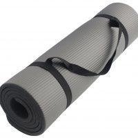 Fitnessmatte grau