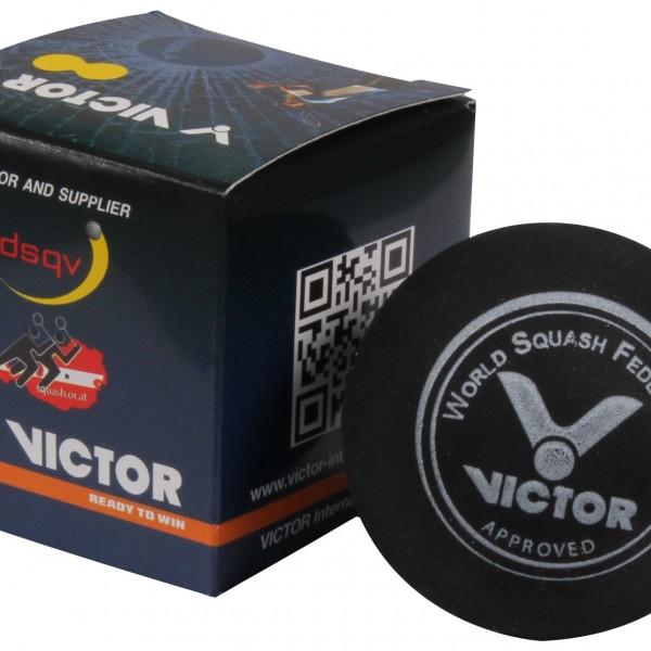 Victor Squash Ball Doppel Gelbpunkt ist offizieller Turnierball der Schweiz